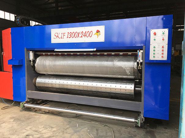 Полуавтоматическая одноголовочная сшивка гофрокоробов DX-S2000