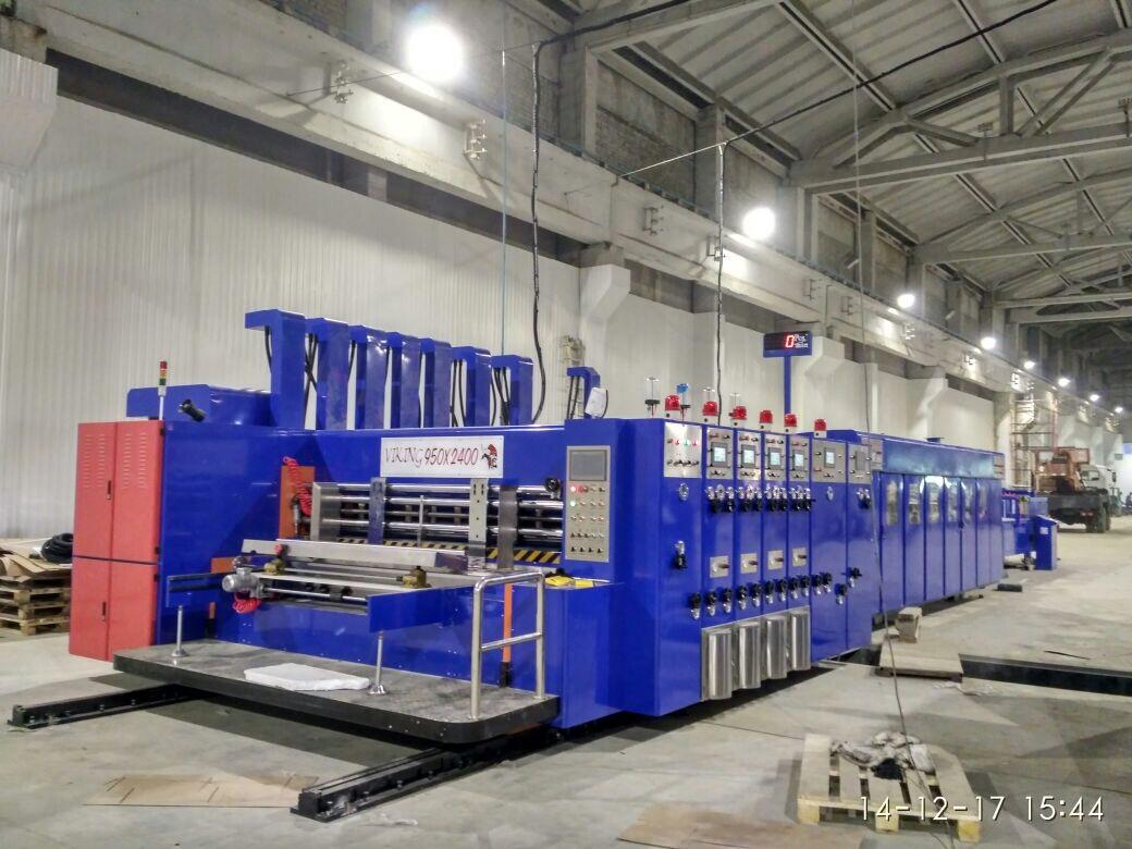 Компьютеризированная автоматическая линия для производства гофрокоробов VIKING INLINE